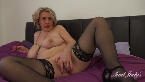 AuntJudys 19 03 20 Auntie Camilla Bedroom POV XXX 1080p MP4-KTR