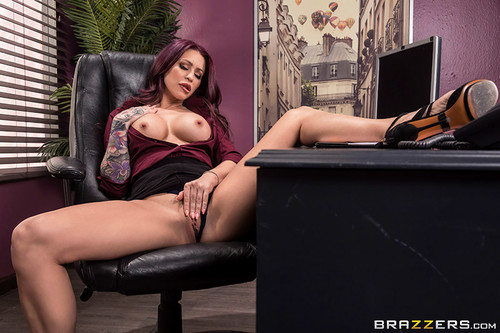 Big Tits At Work: Monique Alexander - Remote Controlled Boss (1080p)