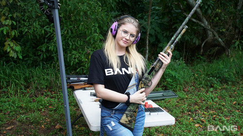 Bang! (Yngr) - Taylor Blake Shoots Guns And Gets Fucked At A Public Gun Range (1080p)