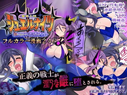 (同人CG集)[190629][TSFのF (孝至)] 聖騎士団 ジュエルナイツ 闇に染まる紫水晶と青玉 [d 157974]