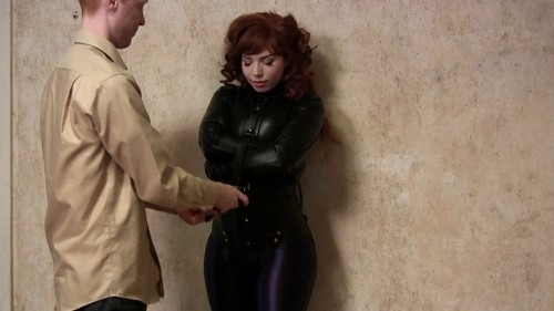 Straitjacketed 2013 06 21 Ludella Hahn In A Leather Straitjacket XXX 720p MP4-hUSHhUSH