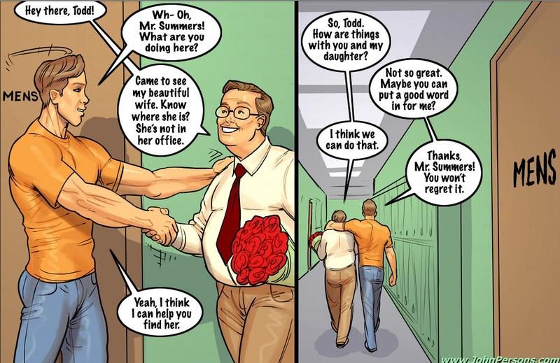 Komik Sex Blonde Fuck With Old Man