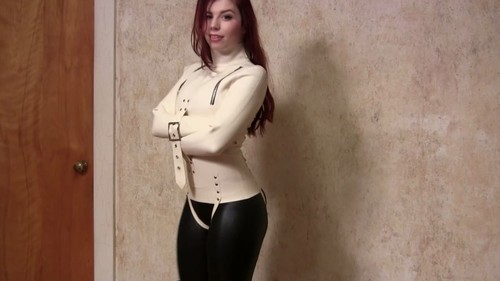 Straitjacketed 2014 02 28 Ludella Hahn In A Latex Straitjacket XXX 720p MP4-hUSHhUSH