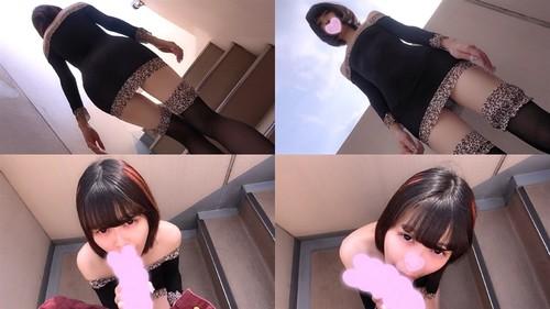 【オボワz☆ 投稿作品】ラム19歳 大人気の超絶美少女配信者!屋外階段でリアルガチSEX!青空の下、アイドル級美少女を本能のままに生チ○ポでハメまくり!